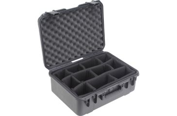 SKB Cases Mil-Std Waterproof Case - w/ Dividers - 7inch Deep 18-1/2 x 13 x 7
