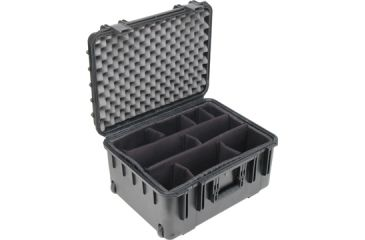 SKB Cases Mil-Std Waterproof Case 10-Inch Deep (w/ dividers, wheels and pull handle) 20-1/2 x 15-1/2 x 10