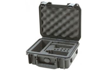 SKB Cases Mil-Std. Waterproof Neuman KM-180 Series Mic Case, Black, 10 3/4 X 9 3/4 X 4 7/8 3i0907-4KM18