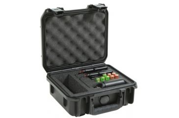 SKB Cases Mil-Std. Waterproof Shure FP Wireless Mic Case, Black, 10 3/4 x 9 3/4 x 9 3/4 3I0907-4-SFP