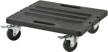 SKB Cases Roto Rack/Shallow Rack Caster Platform, Black, 23 in. X 21 in. X 6 in. 1SKB-RCB