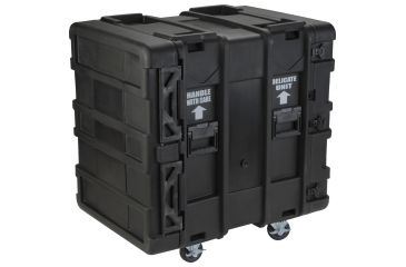 SKB Cases 24 Deep 14U Roto Shock Rack 19 rackable x 24 deep x 24-1/2 high 3SKB-R914U24