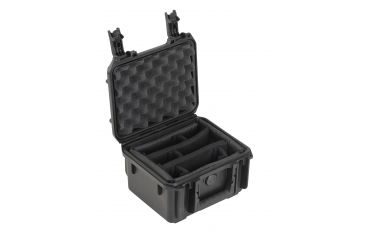 SKB Cases Small Mil-Std Waterproof Case 4 Deep (with dividers) 9 x 7 x 4