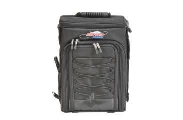 2-SKB Cases Stream-Tek Tak-Pak Fishing Backpack - Black