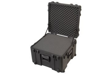 SKB Cases Mil-Standard Roto Carrying Case 17in. Deep 3R2423-17B-CW - w/ Foam