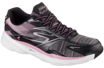 ef175f391274 Skechers GoRun Ride 4 Resistance Road Running Shoe - Women s -Black Pink-Medium