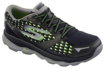 6a86e155c98 Skechers GOrun Ultra 2 Trail Running Shoe - Mens-Black Lime-Medium-