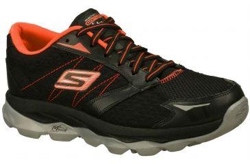 63067512065 Skechers GOrun Ultra Trail Running Shoe - Men s-Black Red-Medium-6.5
