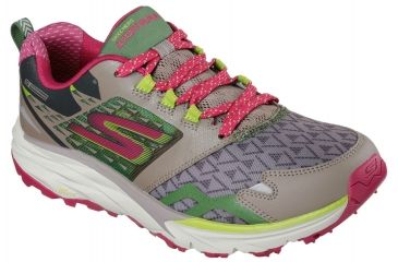 818a5bbc3e29 Skechers GoTrail Trail Running Shoe - Women s-Taupe Pink-Medium-8
