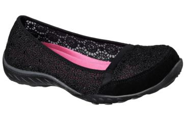 Relaxed Easy Women's Casual Factor Fit Black Breathe Pretty Shoe Skechers Medium qSzMVUp