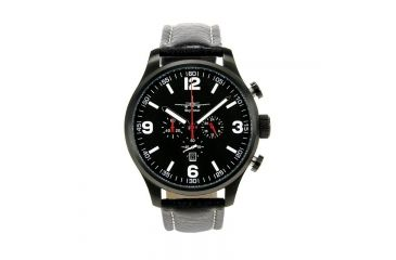Skytimer 501025402 Xxl Pilot Watch, Mens Watch, Black, Black