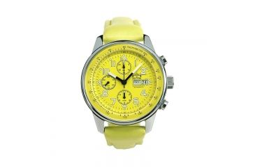 Skytimer 503235001 Automatic Pilot Chronograph Mens Watch, Lemon