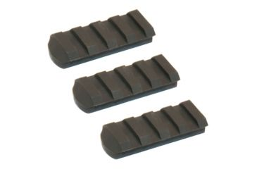 Slide Fire Solutions Rail Pack Includes Three 4 Slot Rail Sections 1.92 Inches OD Green