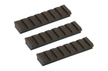 Slide Fire Solutions Rail Pack Includes Three 7 Slot Rail Sections 2.94 Inches OD Green