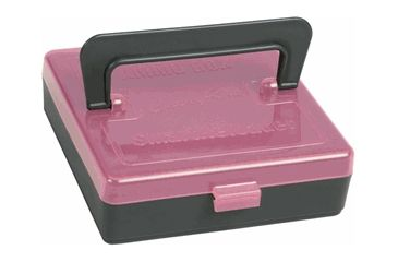 SmartReloader Carry-On Ammo Box Rimfire, Pink with Foam Liner, Extra-Small VBSR634P