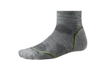 959891d0e Smartwool PhD Outdoor Light Mini Sock - Men s-Medium-Light Grey ...