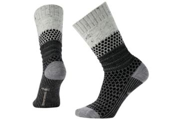83586d3817f8d Smartwool Popcorn Cable Sock - Women's, Winter White Donegal, Small  SW0SW793983-S