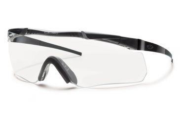 Smith Elite Aegis Echo Asian Fit Eyeshields, Black Frame, Clear/Gray Lens AECHABK12A-2R