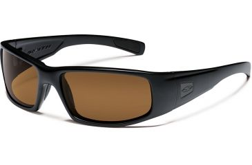 Smith Elite Hideout Tactical Sunglasses With Black Frames And Brown Lenses HDTPPBR22BK