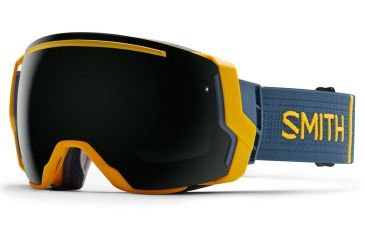 bf172a313f8 Smith I O7 Goggle Asian Fit-Mustard Conditions-Blackout
