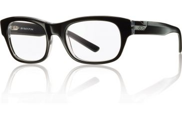 Smith Optics Woodrow Bifocal Prescription Sunglasses - Black Crystal Frame WOODROW-K4XBI