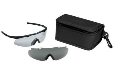 Smith Optics Aegis Eyeshields - Black Frame, w/ Clear and Gray Lenses - Retail Packaging AEG01BK-2R