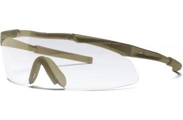 Smith Optics Aegis Eyeshield - Desert Tan frame, Clear lens