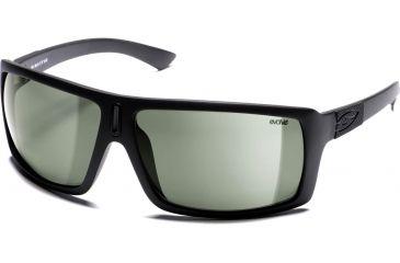 Smith Sunglasses - Annex - Matte Black Evolve Frame, Polarized Gray-Green Lenses