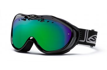 Smith Anthem Goggles, Black Foundation, Green Sol X Mirror AN6NXFK10