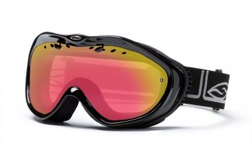 Smith Anthem Goggles, Black Foundation, Red Sensor Mirror AN6RZFK10