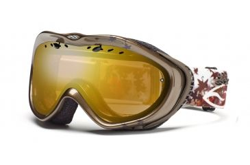 Smith Anthem Goggles, Bronze Fallen, Gold Sensor Mirror AN6GMZF11