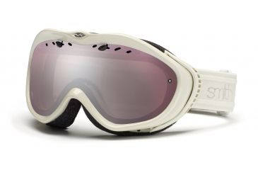 Smith Anthem Goggles, Ivory Bristol, Ignitor Mirror AN6IIB11