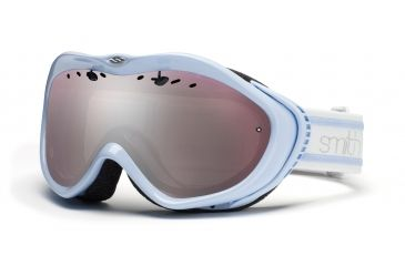 Smith Anthem Goggles, Petal Blue Bristol, Ignitor Mirror AN6IBB11