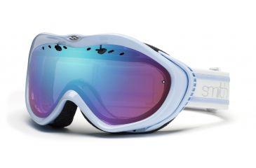 Smith Anthem Goggles, Petal Blue Bristol, Sensor Mirror AN6ZBB11