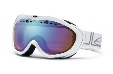 Smith Optics Anthem Ski Goggles - White Foundation - Sensor Mirror Lens