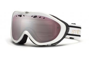 Smith Anthem Goggles, White/Black Bristol, Ignitor Mirror AN6IKB11