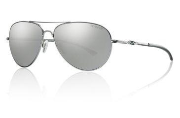 Smith Optics Audible sg, Matte Silver/pol plat chrom lens ABRPGYMMS