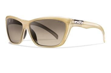 Smith Optics Aura Sunglasses - Stone Frame, Brown Gradient Lenses ARGLBRGST