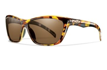 Smith Optics Aura Sunglasses - Vintage Tortoise Frame, Polarized Brown Lenses ARGPBRTT