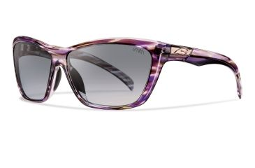 Smith Optics Aura Sunglasses - Violet Frame, Savanna Gray Gradient Lenses ARGLGYGVL