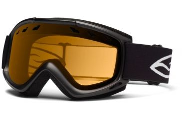 Smith Optics Cascade (New) Goggles - Black Frame, Gold Lite Lenses CS3LBK12