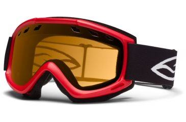 Smith Optics Cascade (New) Goggles - Fire Frame, Gold Lite Lenses CS3LFR12