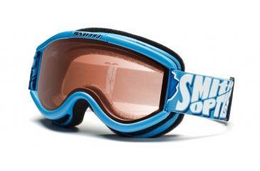 Smith Challenger OTG Goggles, Cyan Smithbot, RC36 CH2ECB11