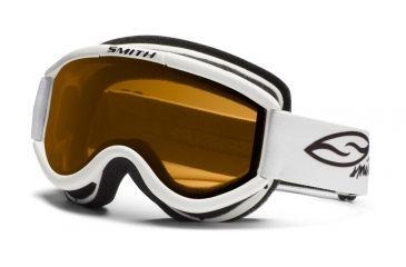 Smith Optics Challenger Otg Goggles - White Frame, Gold Lenses CH2GWT12