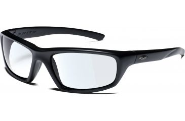 Smith Elite Director Tactical Sunglasses - black frame, clear lens