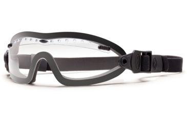 Smith Optics Elite Boogie Sport Asian Fit Goggle, Black Strap, Clear BSPBKCL13A