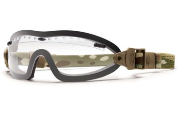 Smith Optics Elite Boogie Sport Asian Fit Goggle, Multicam Strap, Clear BSPMCCL13A