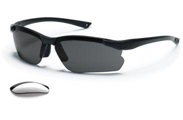 Smith Optics Elite Factor Tactical Sunglasses Field Kit - Gray & Clear lenses