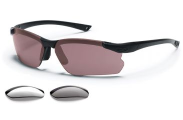 Smith Optics Elite Factor Tactical Sunglasses Range Kit - Gray/Clear/Ignitor lenses