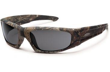 Smith Optics Elite Hudson Tactical Sunglasses, Realtree A/P, Gray HUTPCGYAP